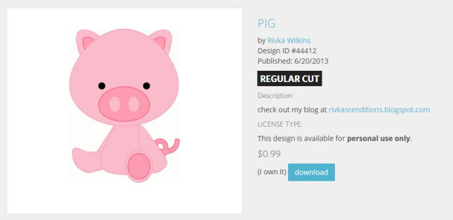 Pig_ Regular Cut
