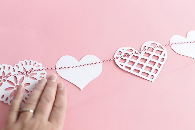 Assembling Heart Banner