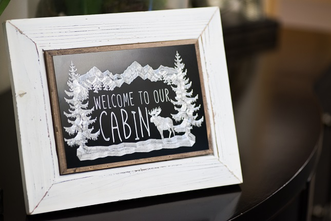 Featured Image for Metal Etched Framed Decor (#25963)