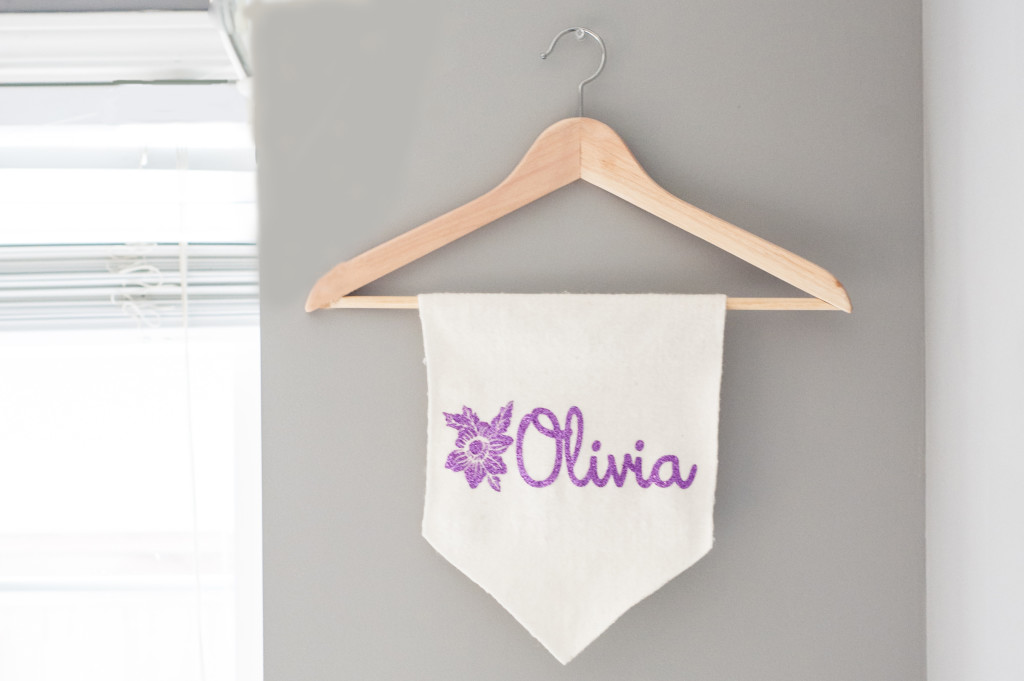 Free Design of the Week: Floral Name Banner | Erica Sooter for Silhouette America