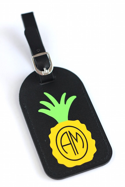 Personalized Luggage Tag | Analisa Murenin for Silhouette