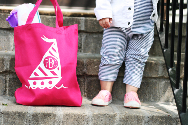 Free Shape of the Week Beach Bag by Brittany Sazonoff for Silhouette America