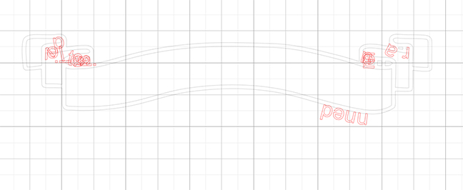 adding text to the curved lines