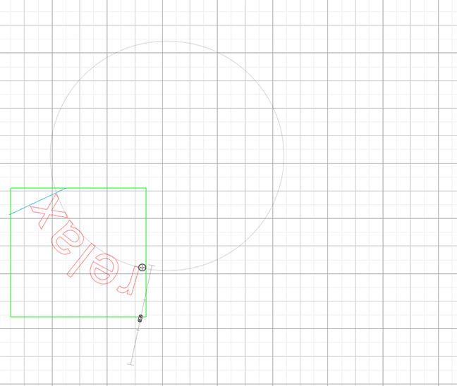 Drag text into circle in Silhouette Design Studio