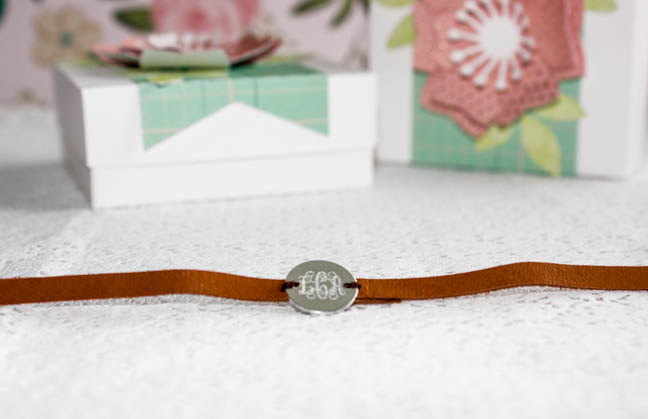 Featured Image for Easy Etched Monogram Charm Leather Wrap Bracelets (#42875)