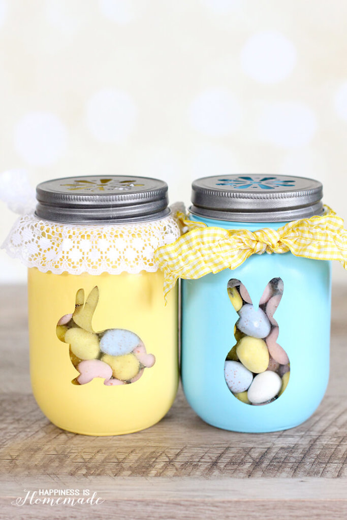 Quick & Simple Easter Baskets using your Silhouette CAMEO or Mint
