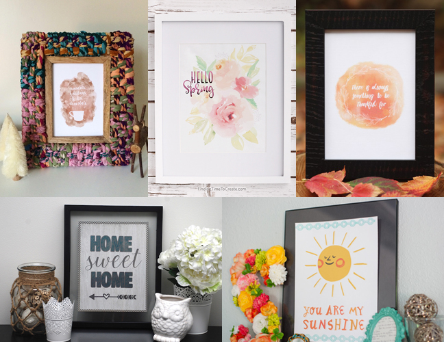 Featured Image for 5 Print & Cut Projects For Your Gallery Wall (#45696)