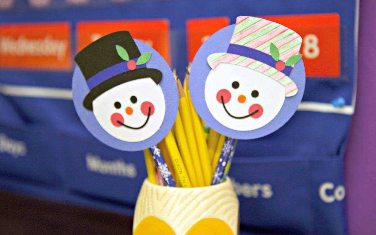 Featured Image for Winter Pencil Topper (#106751)