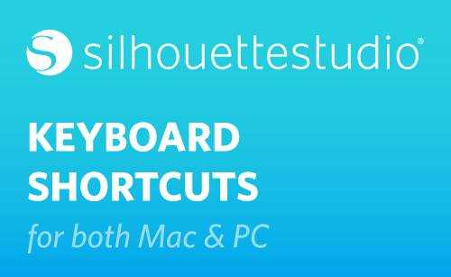 Featured Image for Silhouette Studio® Shortcuts (#111618)