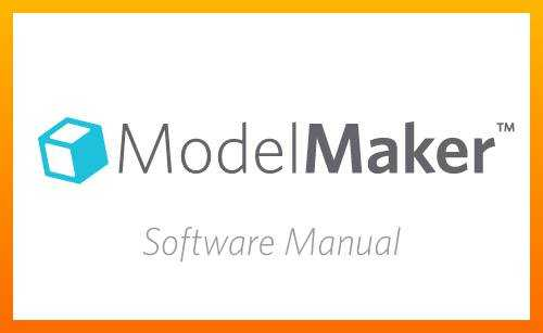 Modelmaker Software Manual