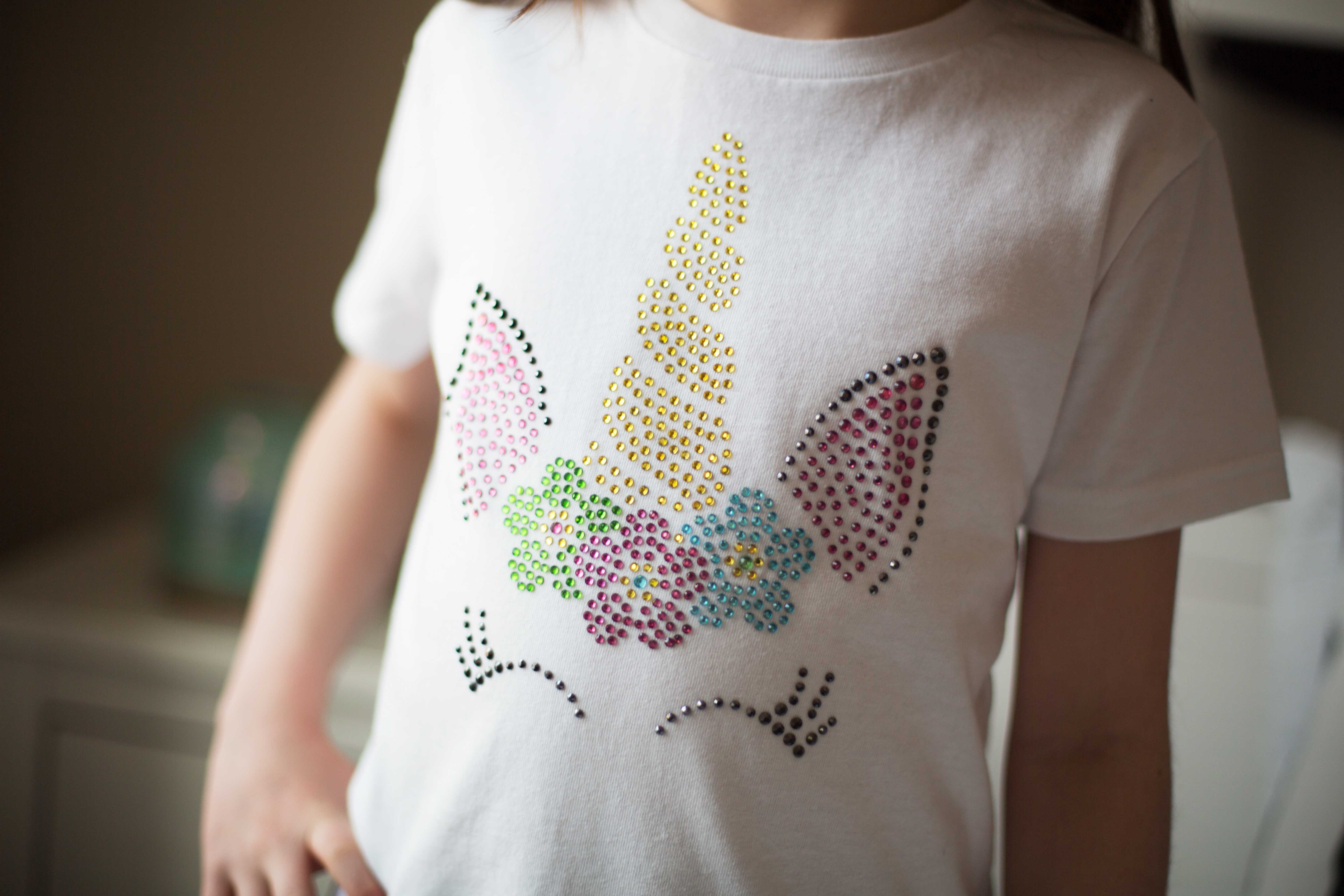Featured Image for Rhinestone Unicorn Tee (#100666)