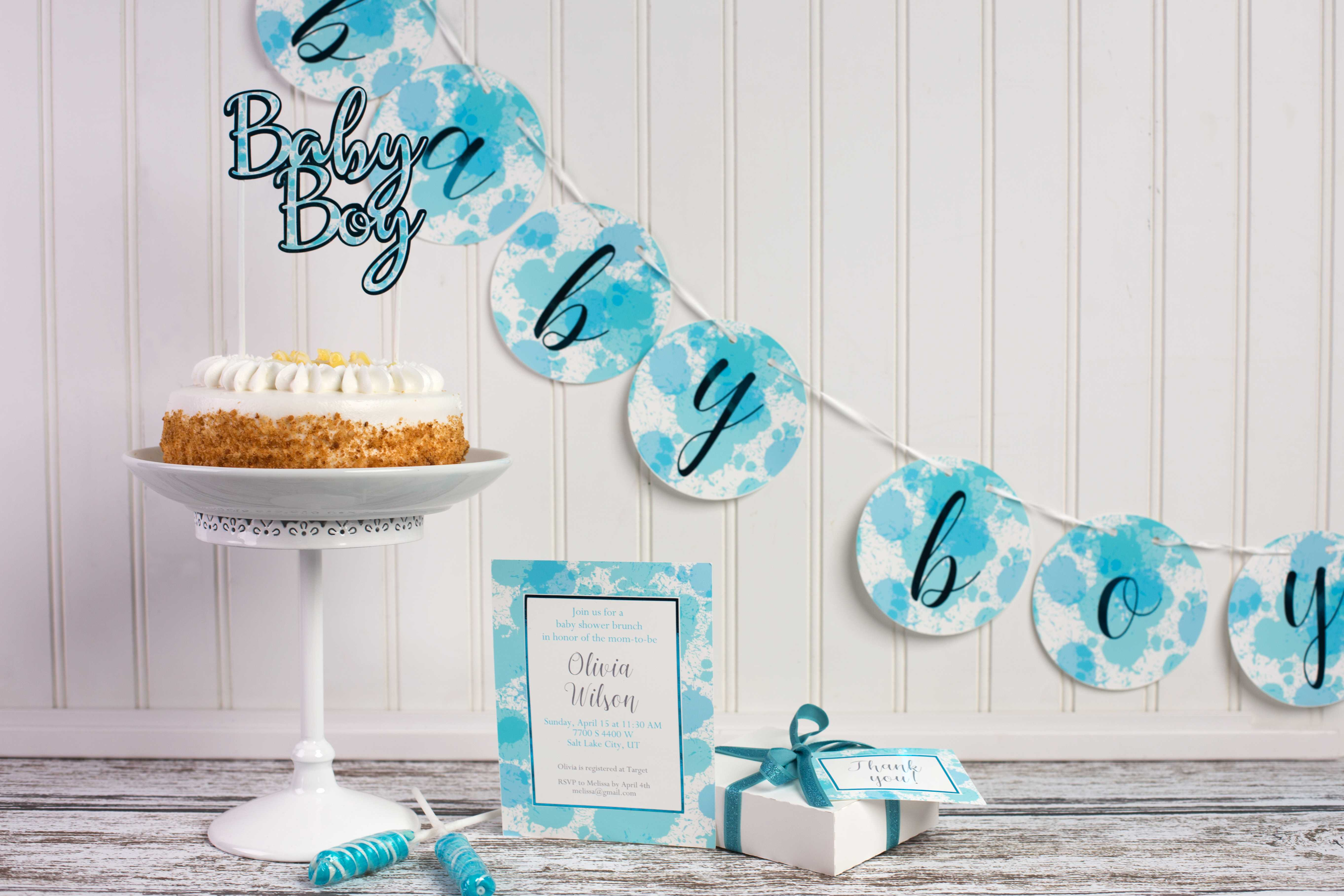 Featured Image for Baby Shower Set (#108181)