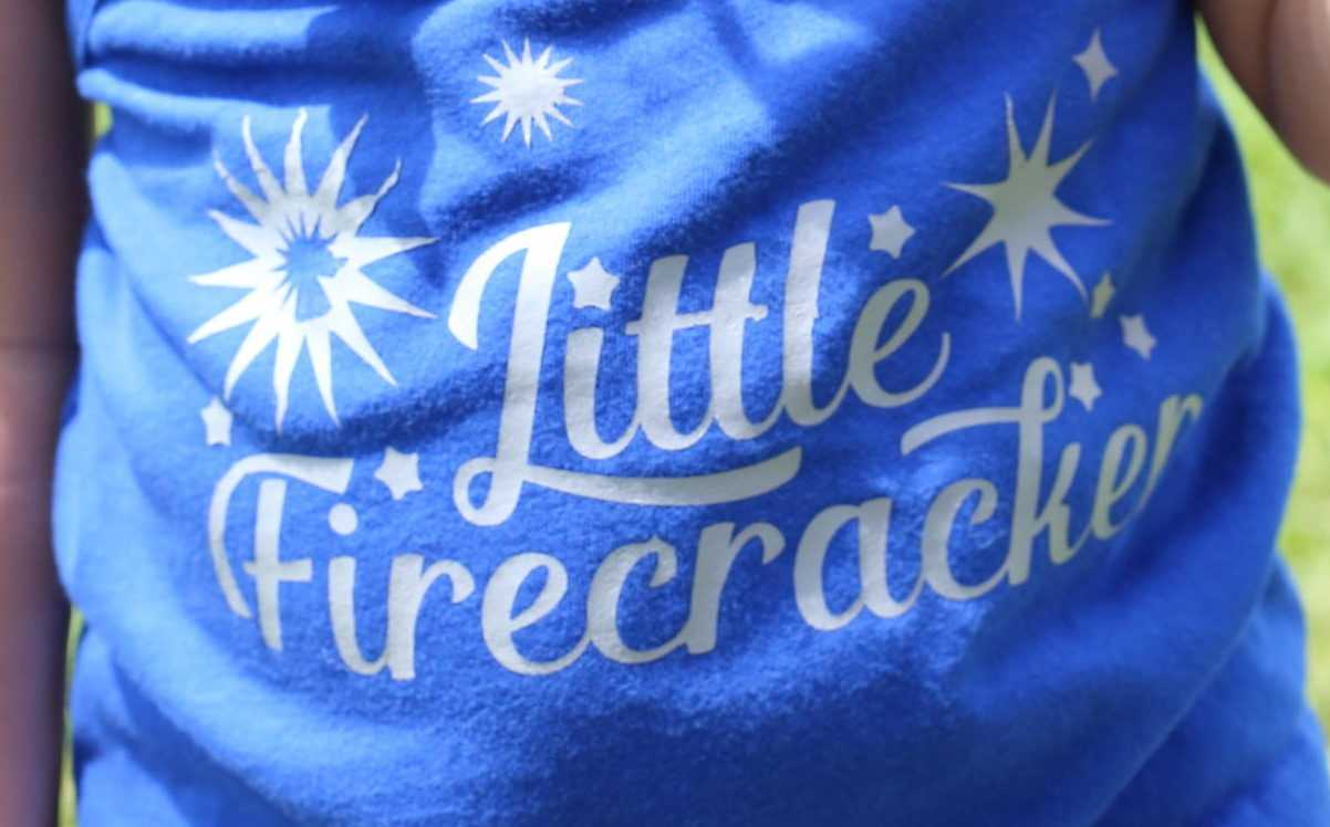 Featured Image for Summer Little Firecracker T-shirt (#111026)