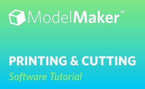 Featured Image for Printing and Cutting in Silhouette ModelMaker™ (#116171)