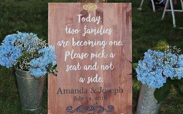 Featured Image for Hand-painted Wedding Sign (#116703)