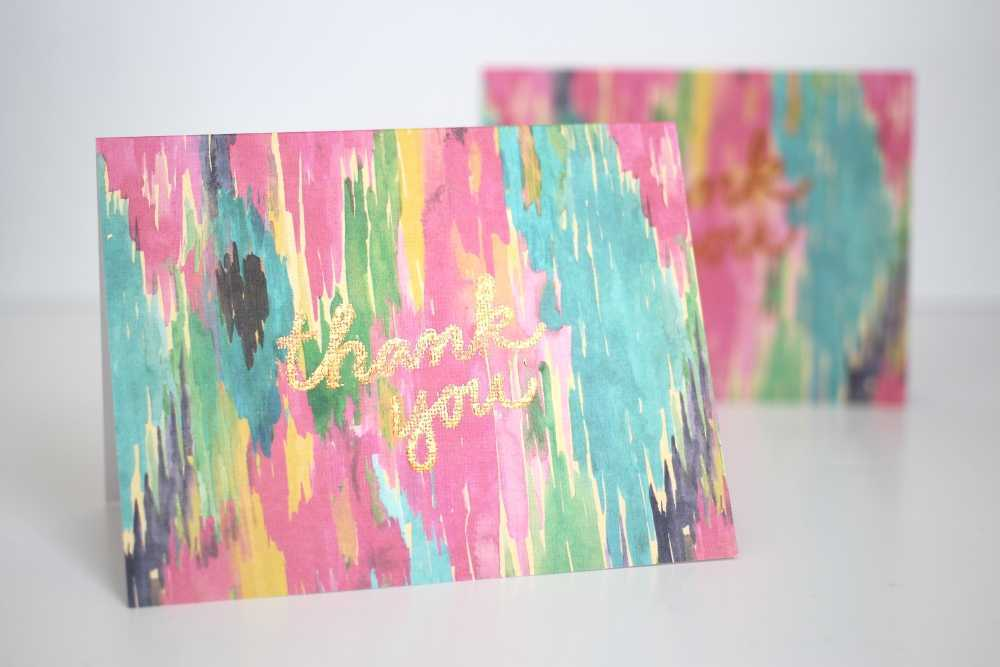 Featured Image for Gold Foil Thank You Cards with the Silhouette Curio™ (#117160)