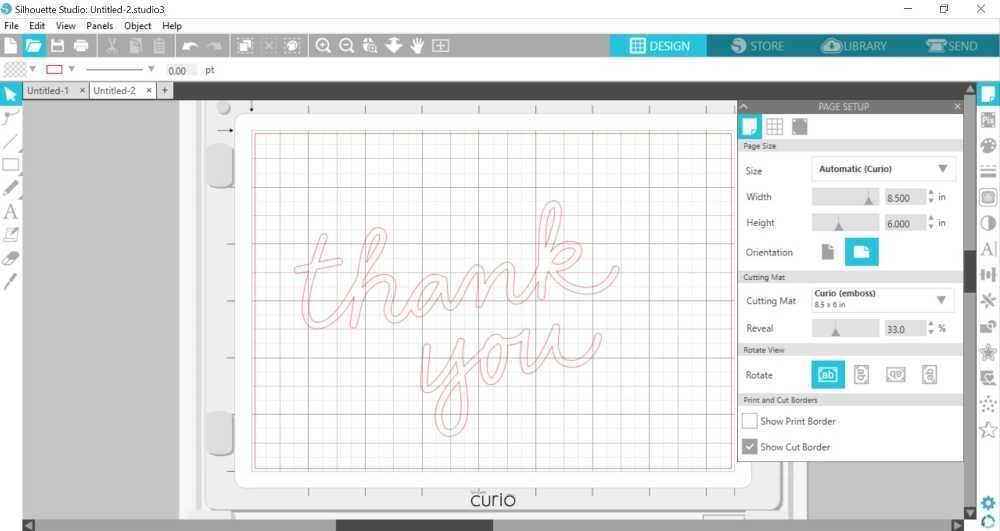 Create beautiful and custom Gold Foil Thank You Cards with the Gold Foil Thank You Cards with the Silhouette Curio™. Click here to see how easy they are to make with Polka Dotted Blue Jay