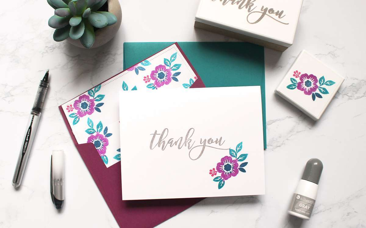 Featured Image for Thank You Notes with Mint Stamp (#120693)