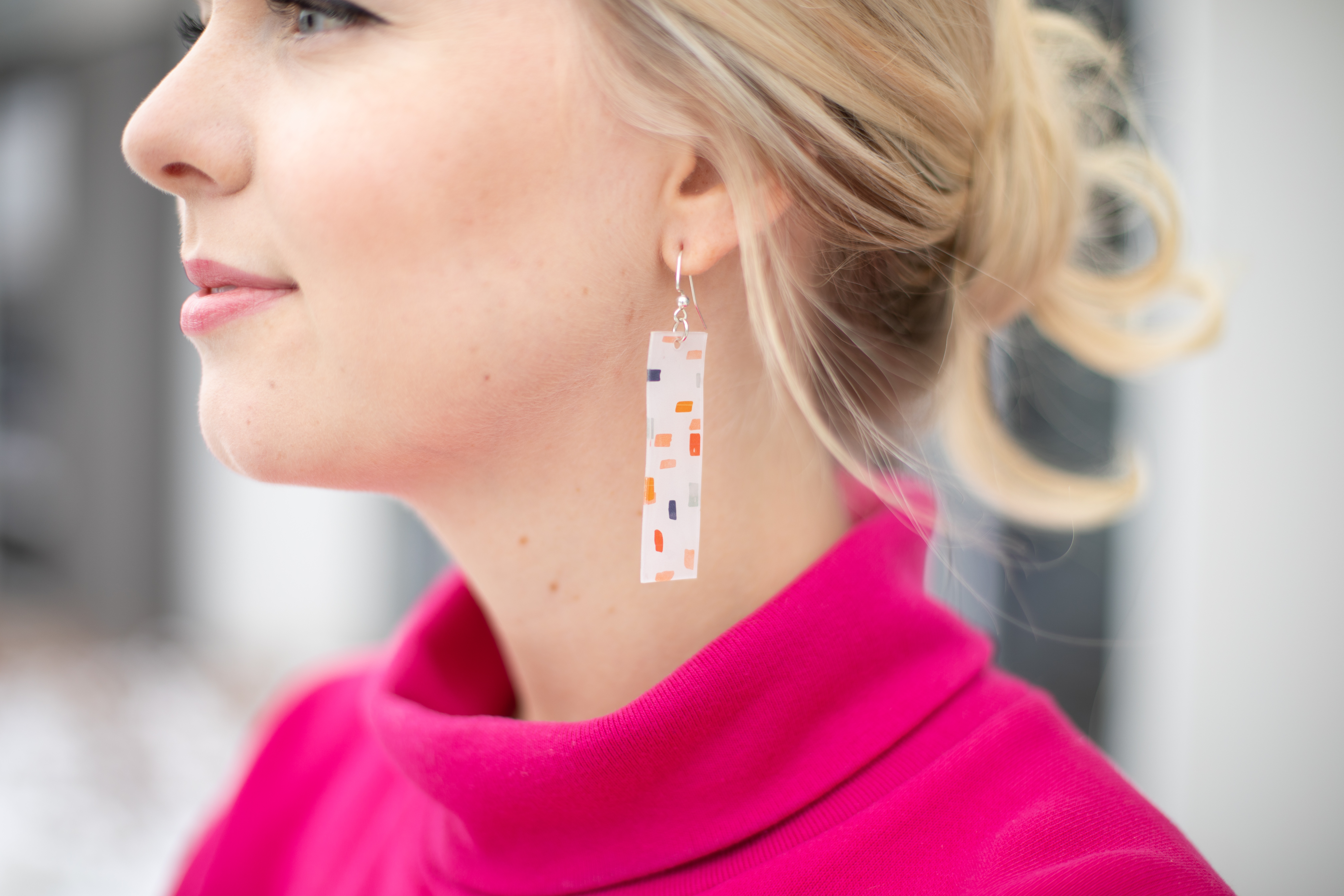Featured Image for Terrazzo Earrings with Shrink Plastic (#120945)