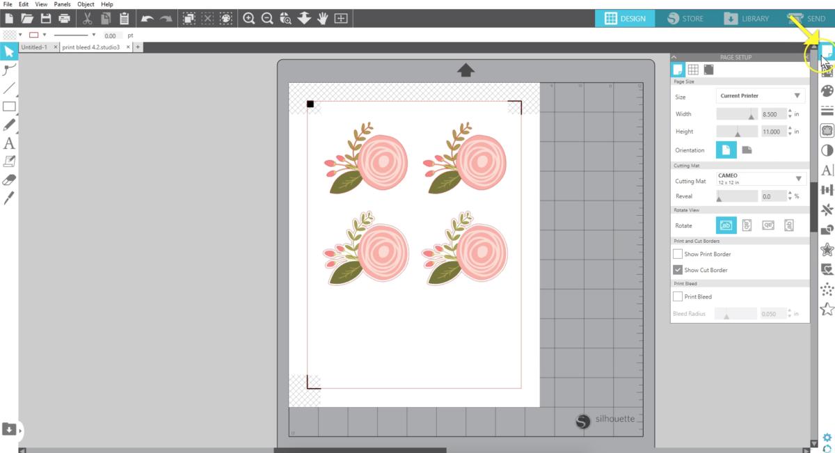 Silhouette Studio 4 2 Print Bleed