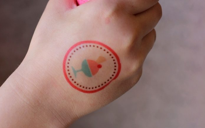 Featured Image for Ice Cream Print & Cut Temporary Tattoo (#28317)