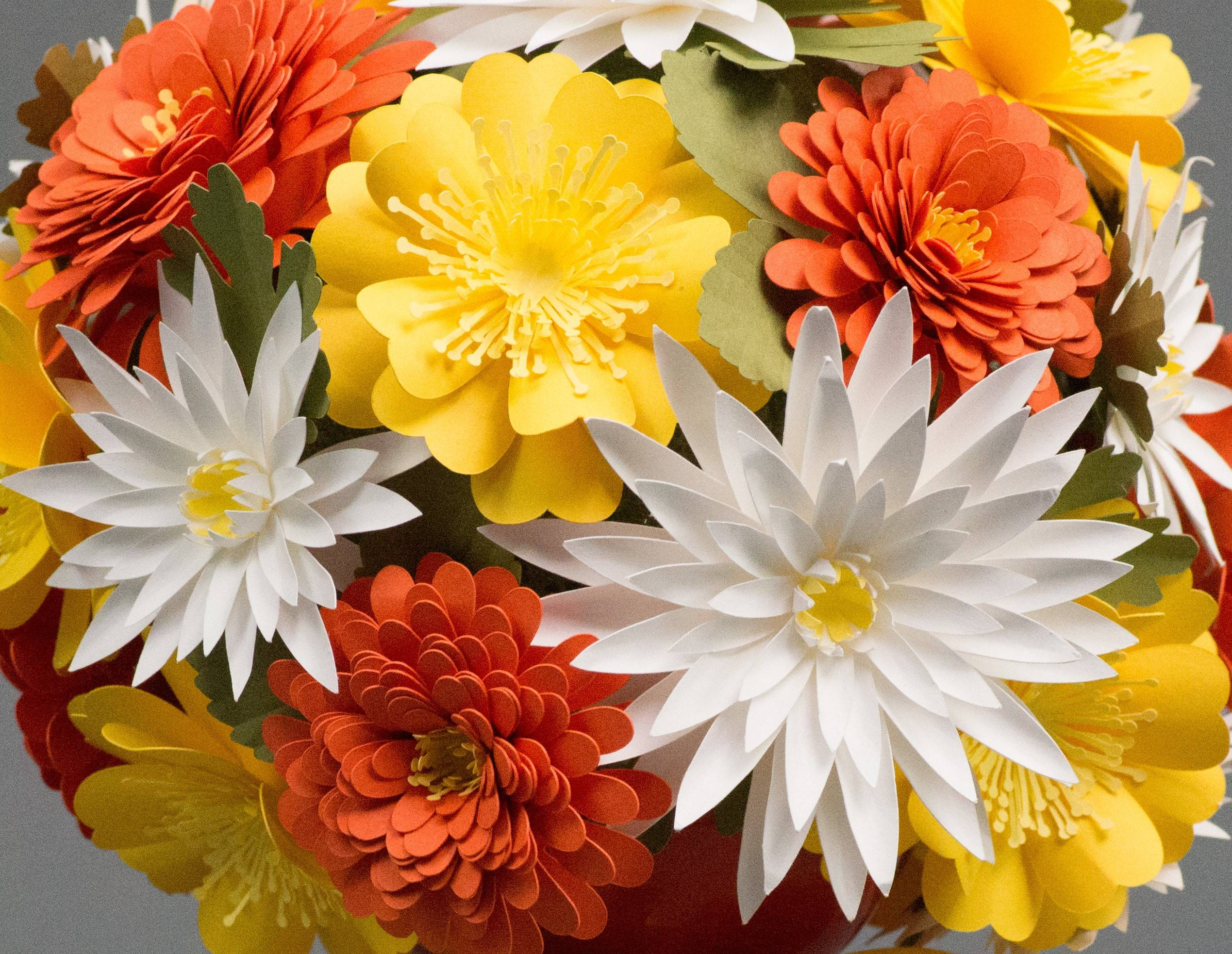 Featured Image for 3D Fall Paper Flower Bouquet (Part 2) (#105091)