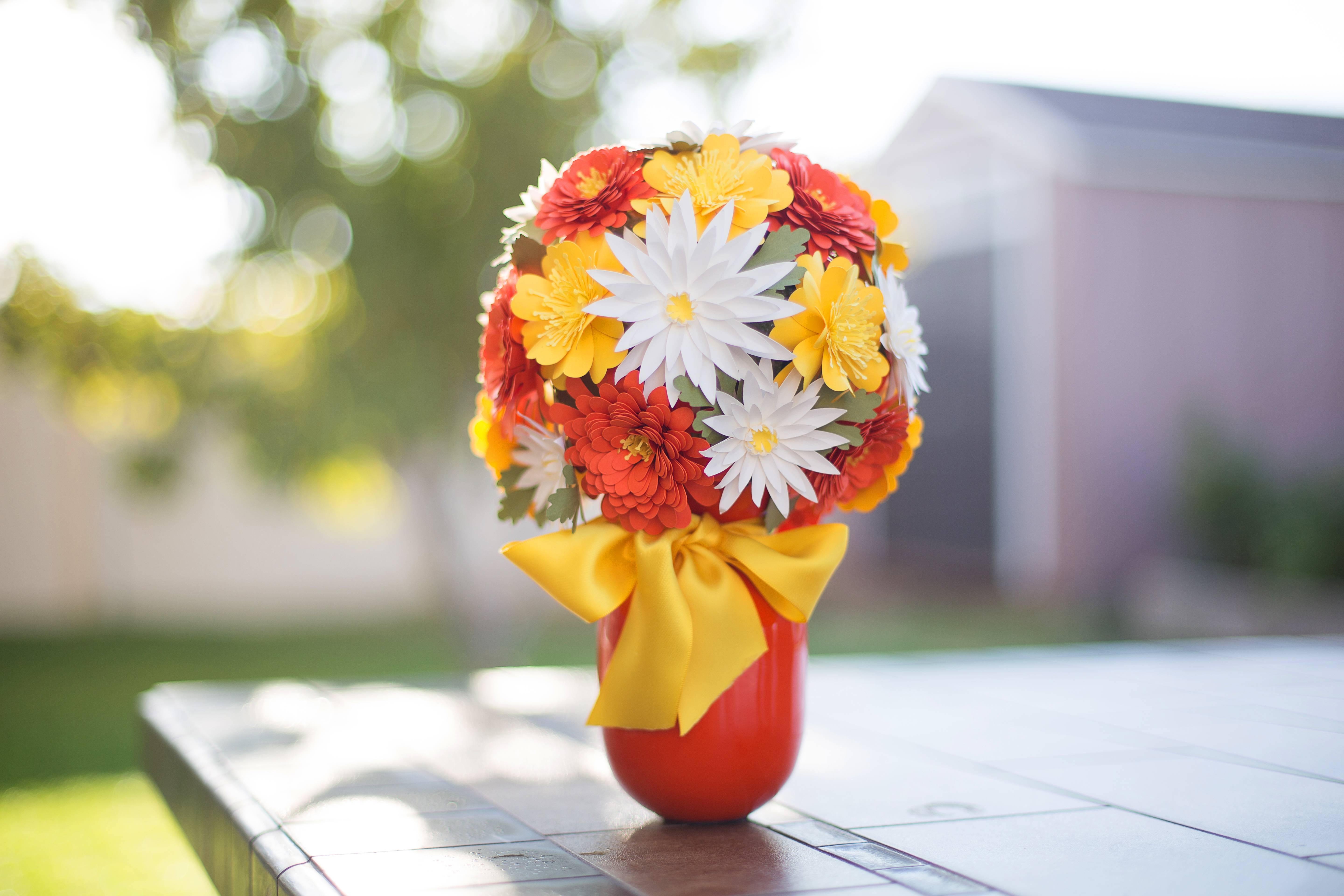 Featured Image for 3D Fall Paper Flower Bouquet (Part 1) (#104439)