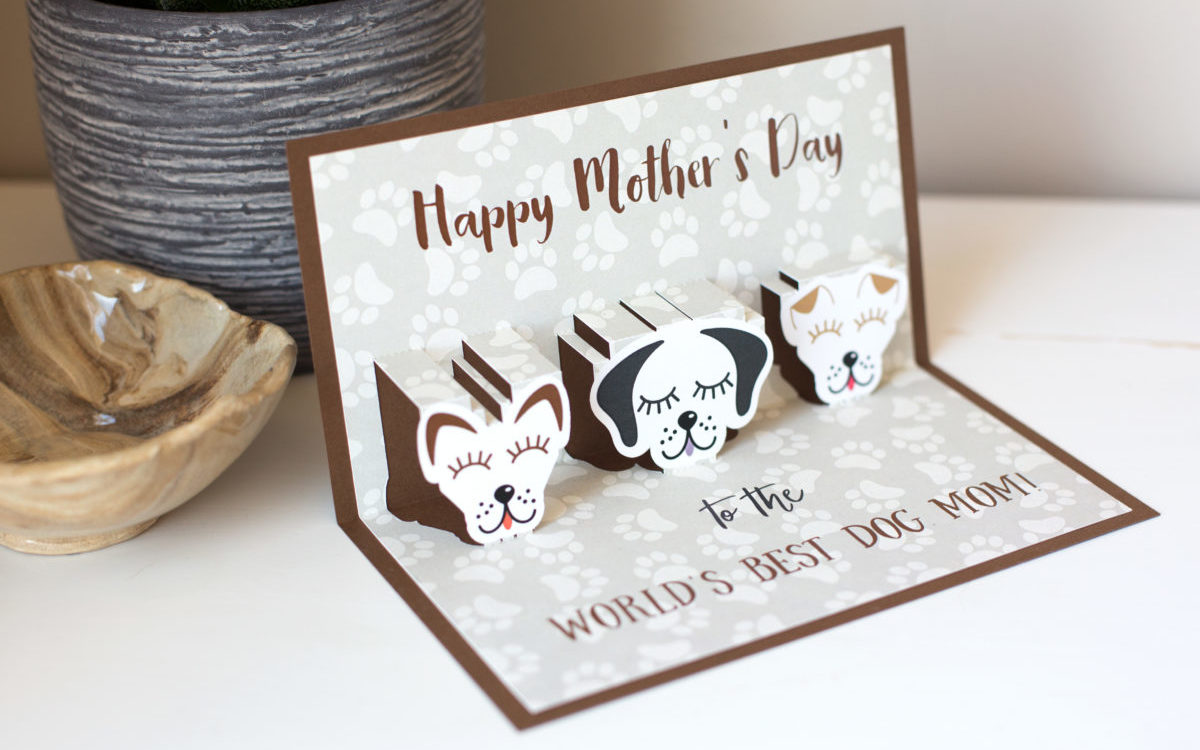 Featured Image for Pop-up Card for Dog Mom (#109786)