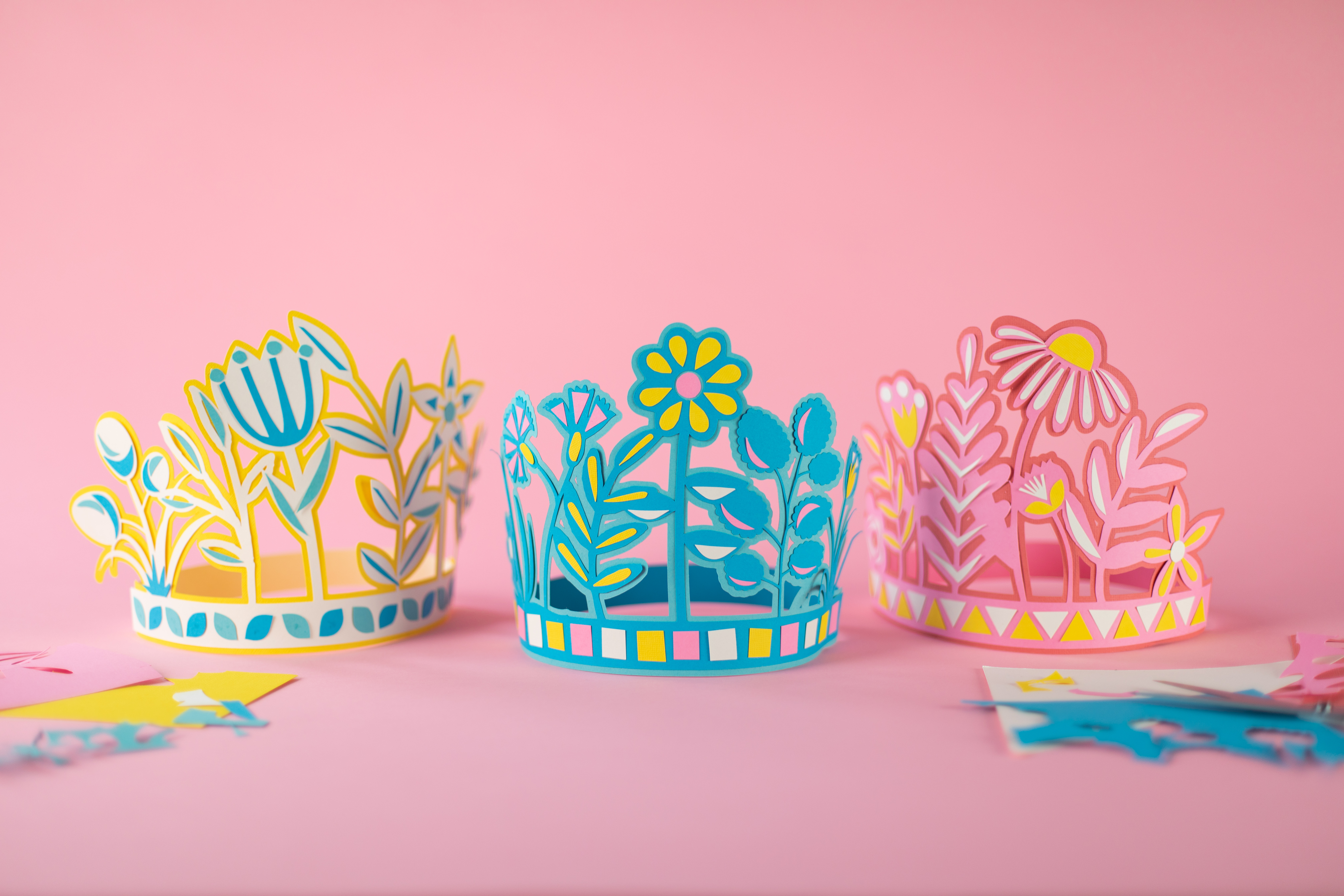 Featured Image for Paper Cut Flower Crowns (#121550)
