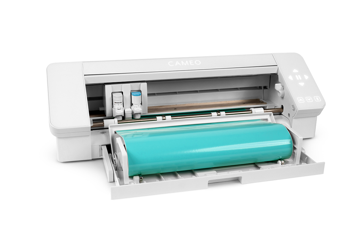 Featured Image for Silhouette Cameo® 4 Built-in Roll Feeder and Crosscutter (#125453)