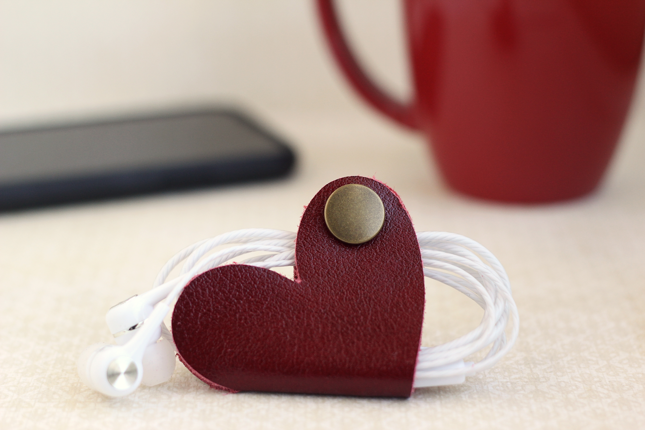 Featured Image for Leather Earbud Holder (#125569)