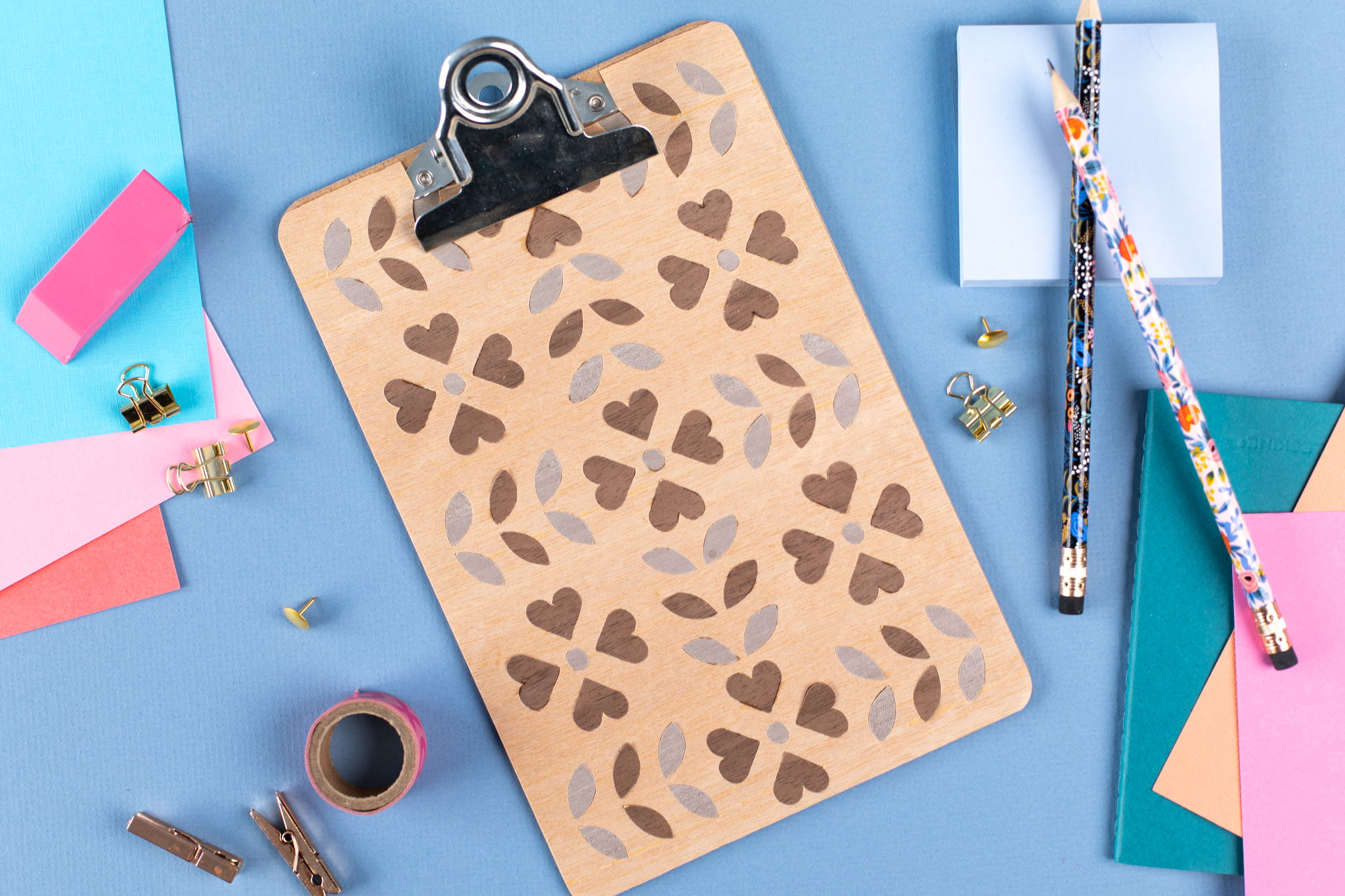 Featured Image for Wood Patterned Clipboard (#126584)
