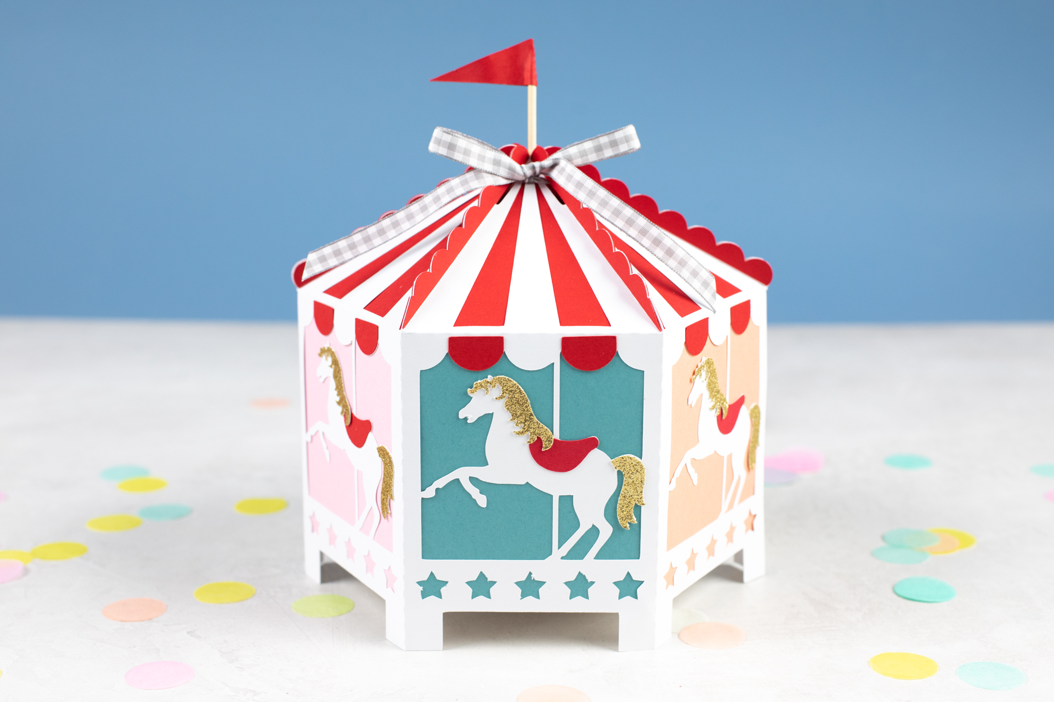 Featured Image for 3D Paper Carousel (#126874)