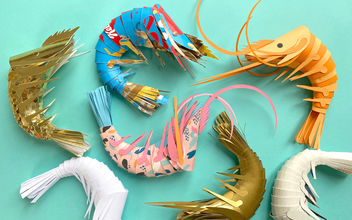 Featured Image for Paper Prawns by Lisa LLoyd (#127418)