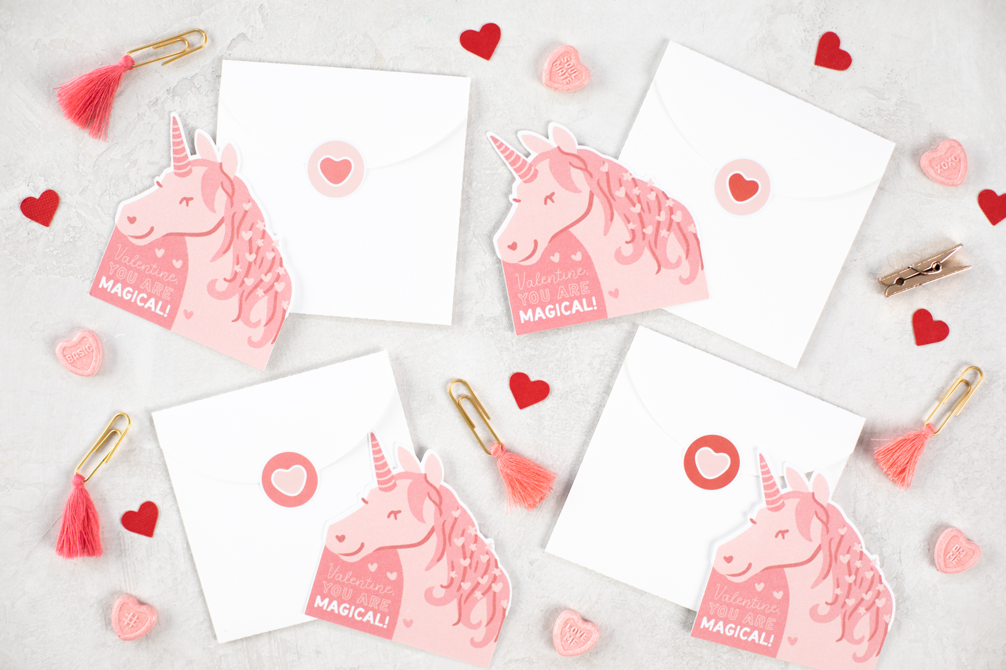 Featured Image for Magical Unicorn Card with Envelope (#127952)