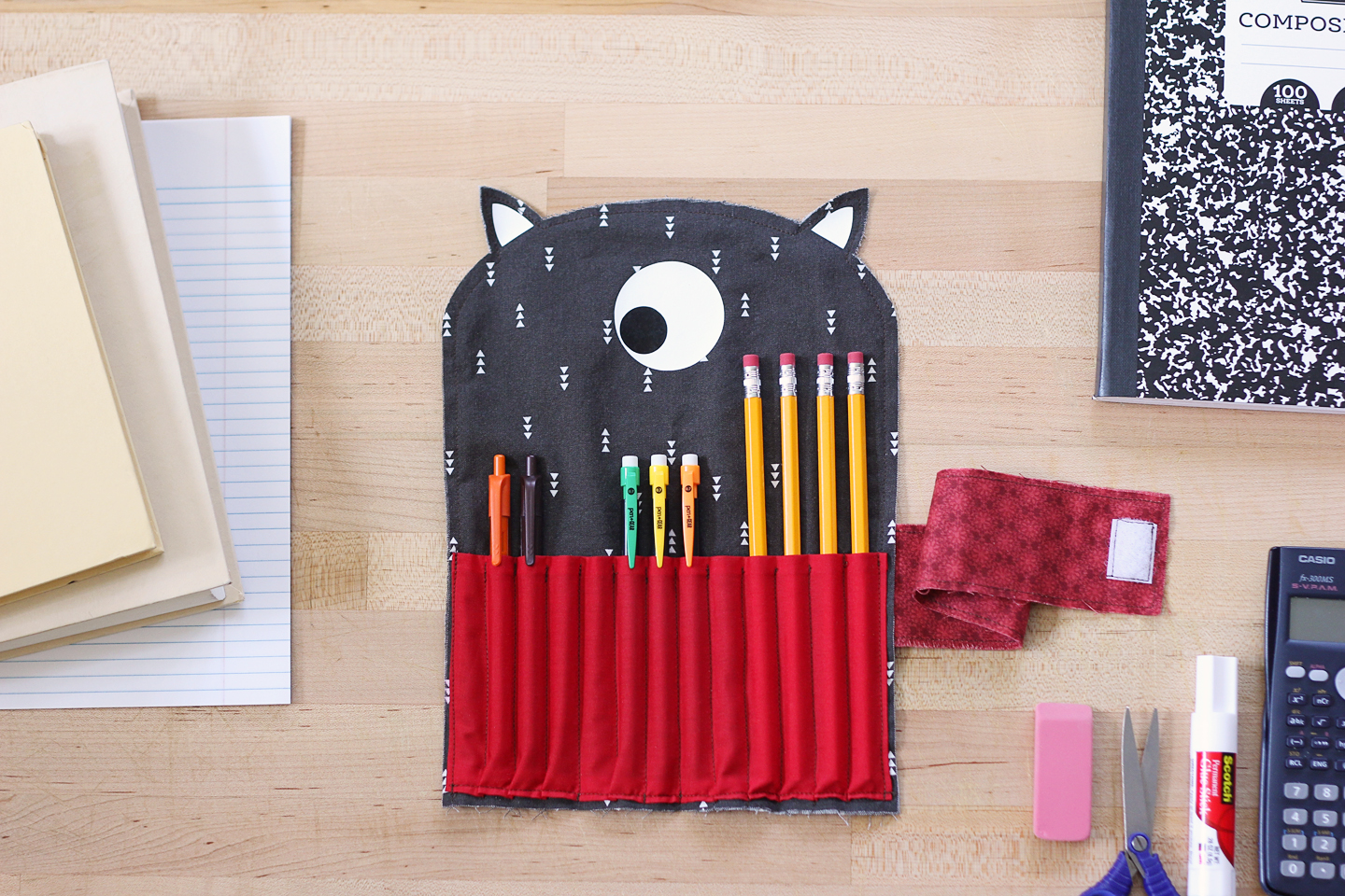 Featured Image for Fabric Pencil Case Using the Silhouette Rotary Blade (#128677)