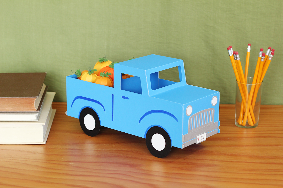 Featured Image for DIY Fall Decor: 3D Pickup Truck (#128794)